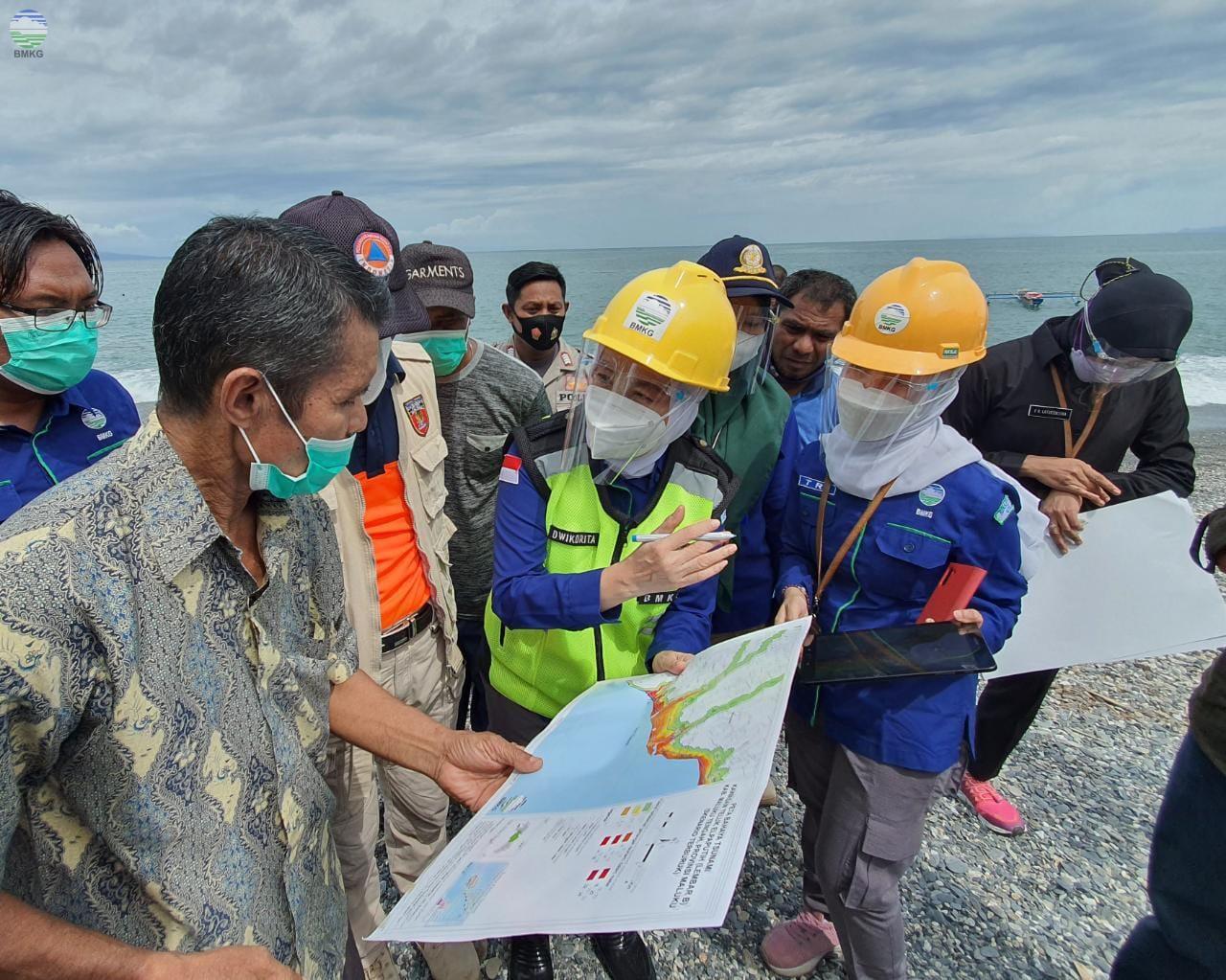Perkuat Mitigasi Hadapi Bencana Gempabumi dan Tsunami, Kepala BMKG Kunjungi Prov. Maluku