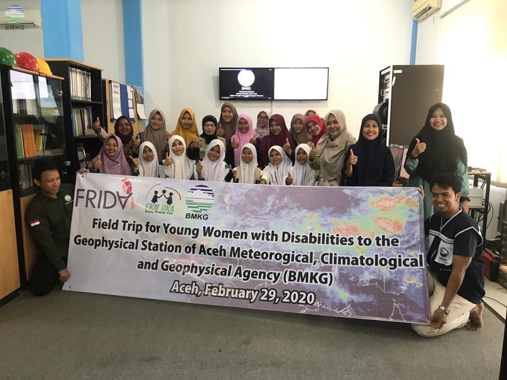Stasiun Geofisika Aceh Besar Memberikan Program Edukasi kepada Beberapa Lembaga Pendidikan