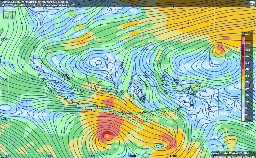 Dua Siklon Tropis Tumbuh Dekat Wilayah Indonesia, Ini Analisis BMKG Terkait Dampaknya