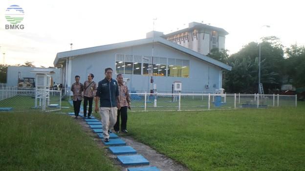 Kunjungan Kerja Deputi Meteorologi di UPT Wilayah Kalimantan Timur