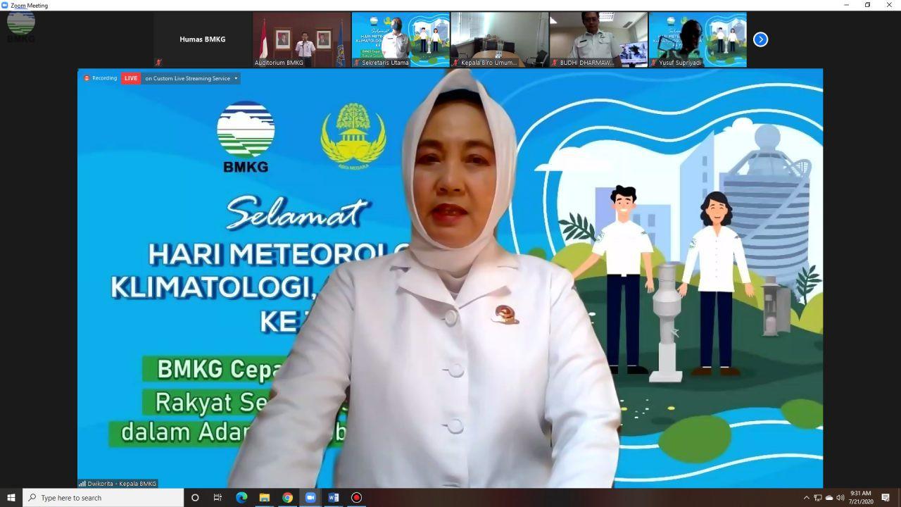 BMKG Peringati Hari Meteorologi, Klimatologi dan Geofisika Ke-73