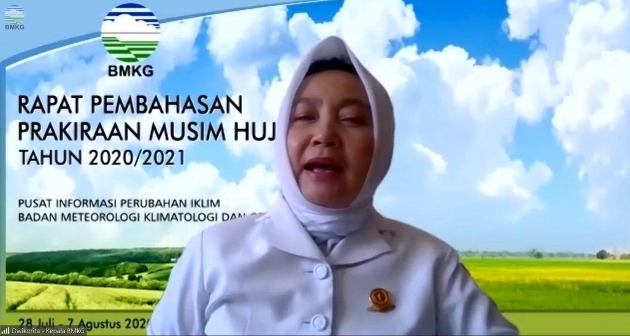 Kepala BMKG Buka Rapat Prakiraan Musim Hujan (PMH) 2020/2021 Secara Virtual