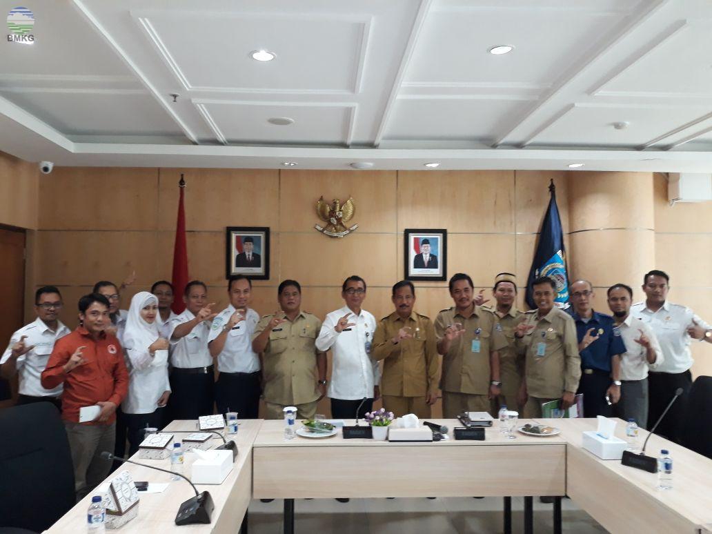 Kunjungan Kerja BBMKG Wilayah II ke Pemda Kota Tangerang Selatan