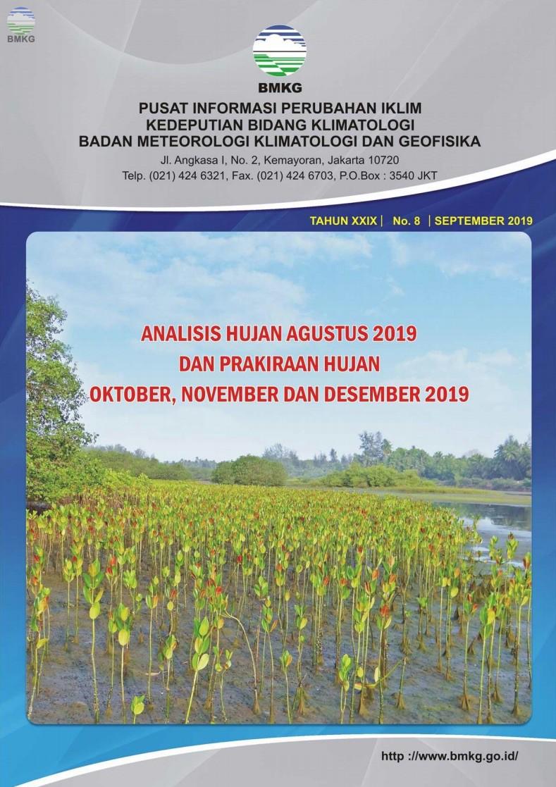 Buletin Hujan Bulanan di Indonesia - Updated September 2019