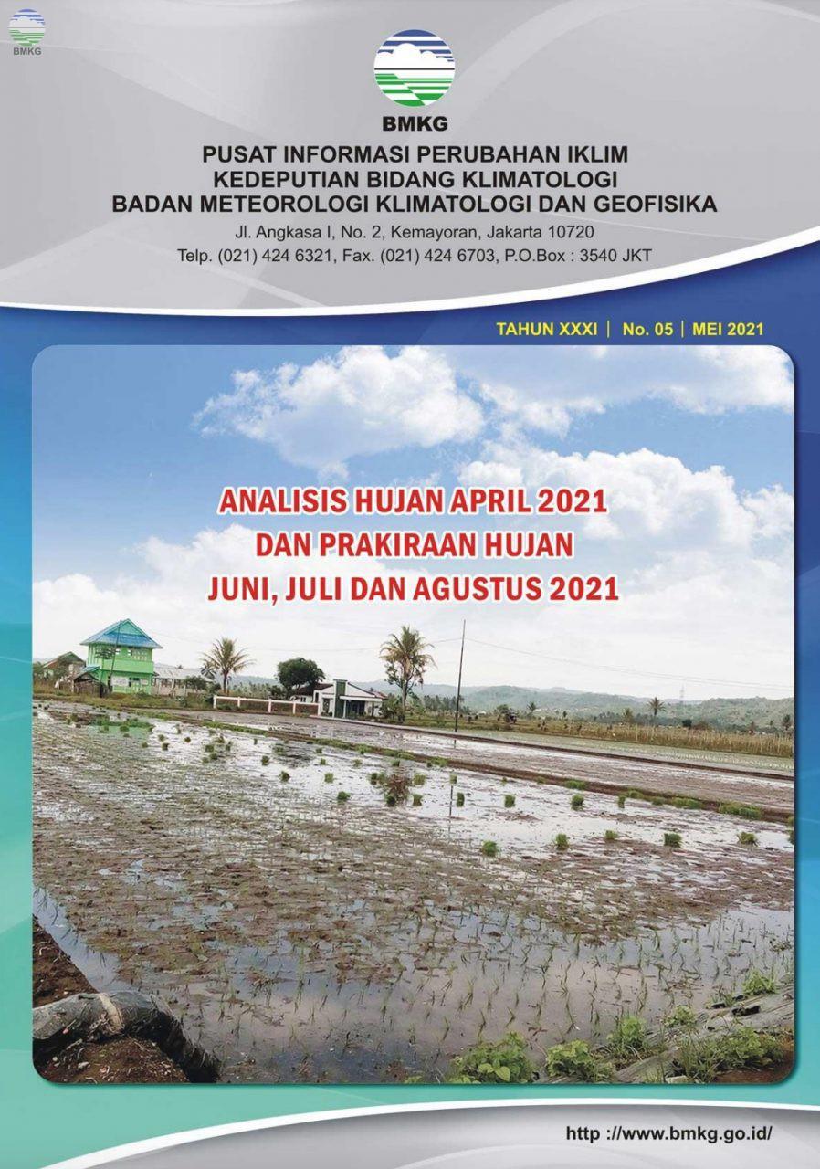 Buletin Hujan Bulanan di Indonesia - Updated Mei 2021