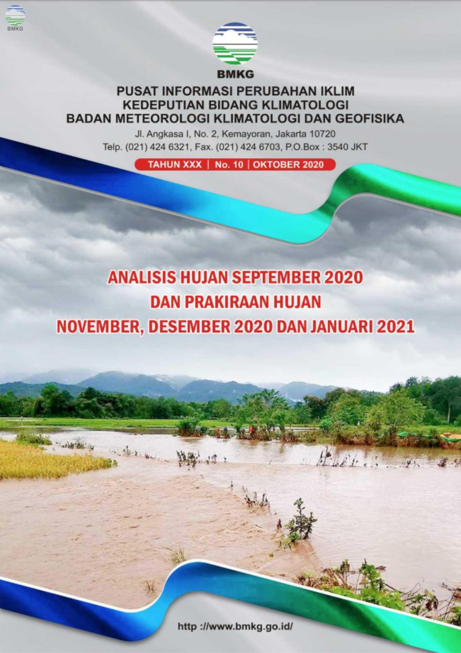 Buletin Hujan Bulanan di Indonesia - Updated Oktober 2020