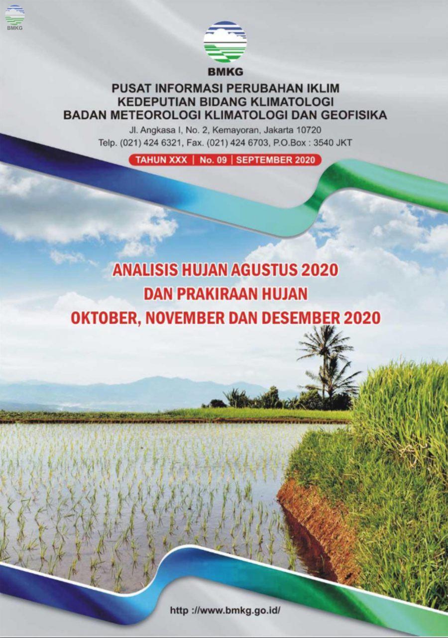 Buletin Hujan Bulanan di Indonesia - Updated September 2020