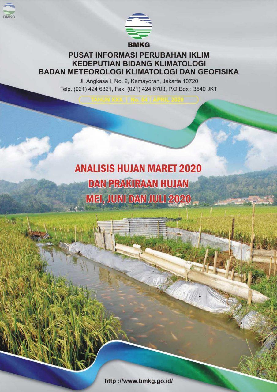 Buletin Hujan Bulanan di Indonesia - Updated April 2020