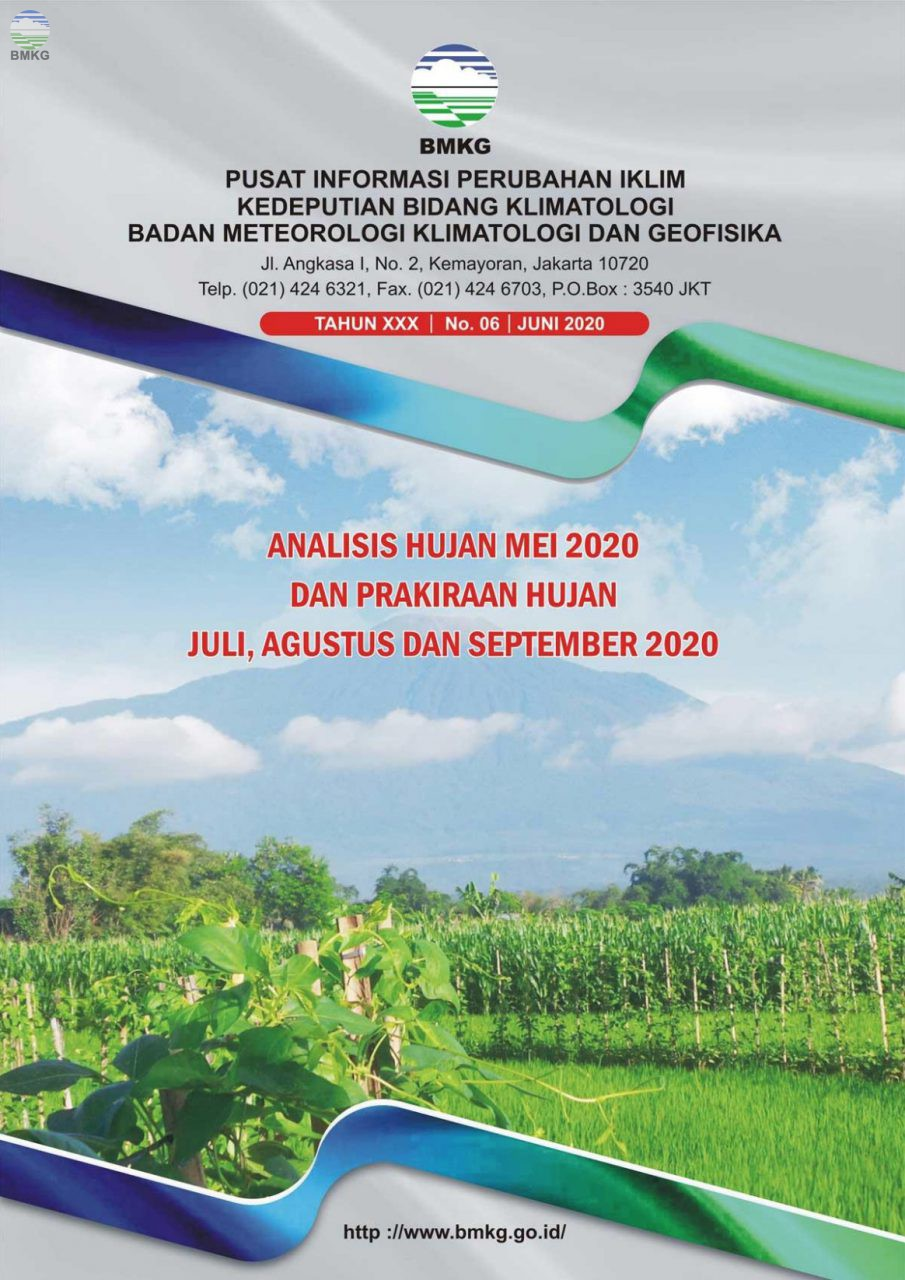 Buletin Hujan Bulanan di Indonesia - Updated Juni 2020