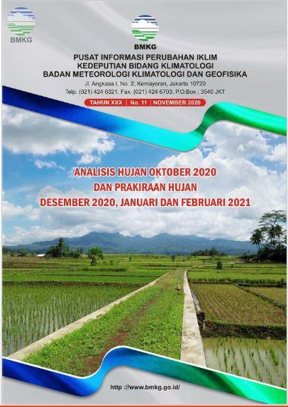 Buletin Hujan Bulanan di Indonesia - Updated November 2020