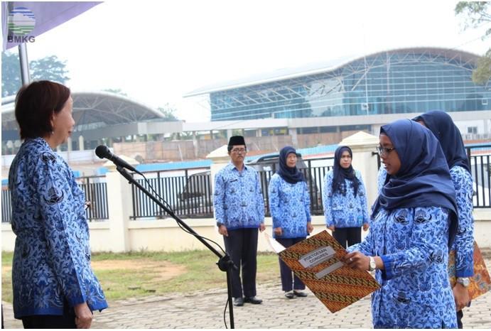 Upacara Peringatan Hari Sumpah Pemuda BMKG Provinsi Jambi