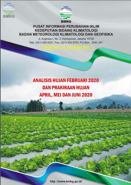 Buletin Hujan Bulanan di Indonesia - Updated Maret 2020