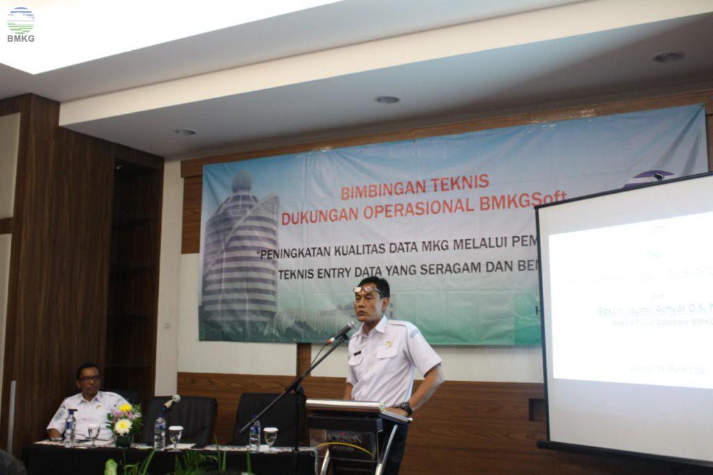 "Bimbingan Teknis ""BMKGSoft"" di BBMKG Wilayah V Jayapura"
