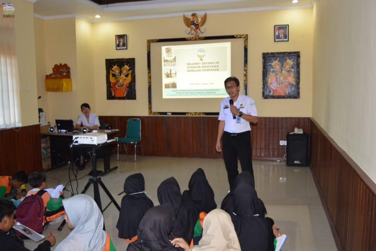 """Stasiun Geofisika Sanglah Denpasar Membentuk """"Education Center"""" untuk Tanggap Bencana"""