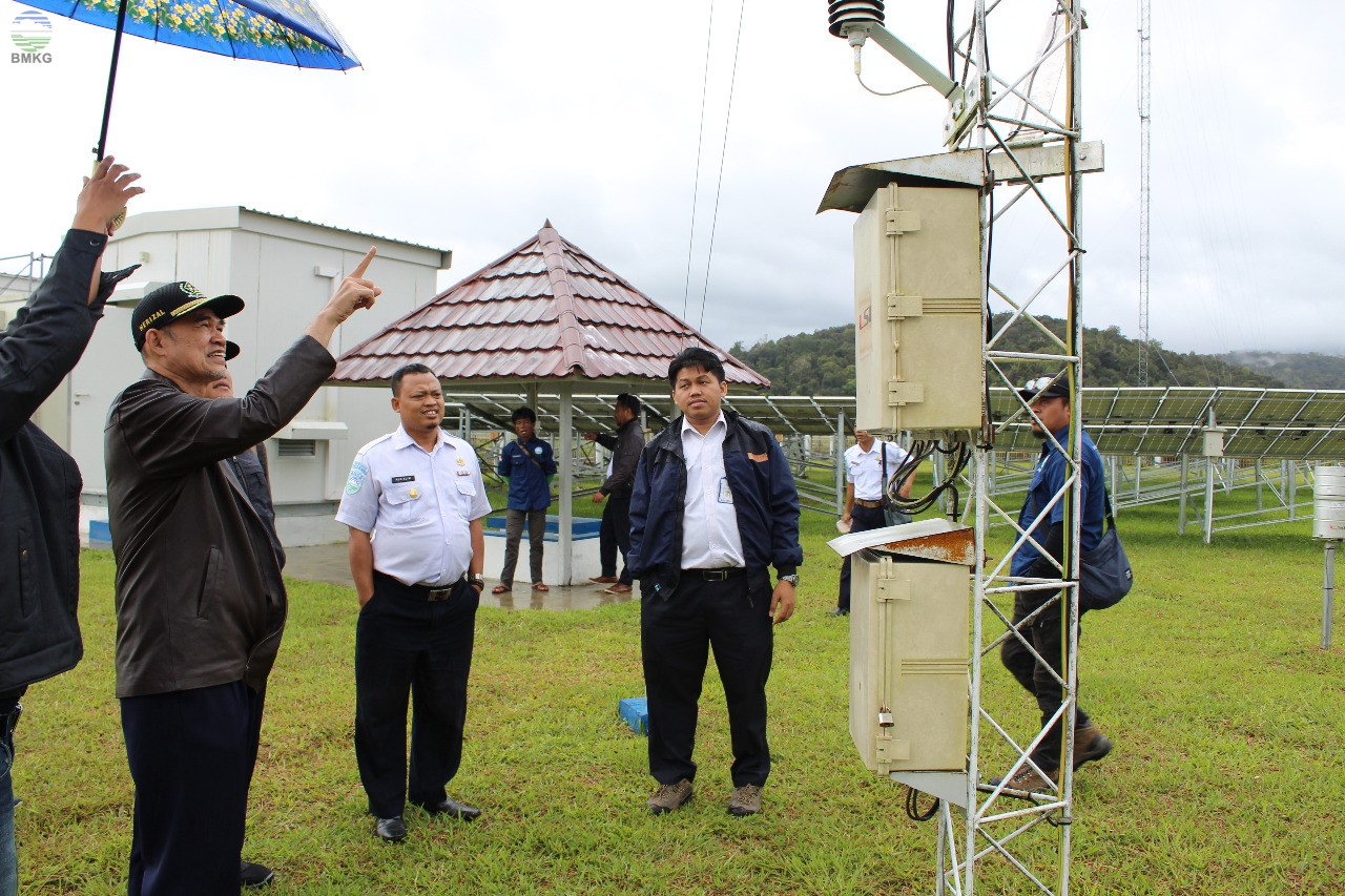Kunjungan Kerja Deputi Bidang Klimatologi BMKG di Stasiun Pemantau Atmosfer Global Lore Lindu Bariri Sulawesi Tengah