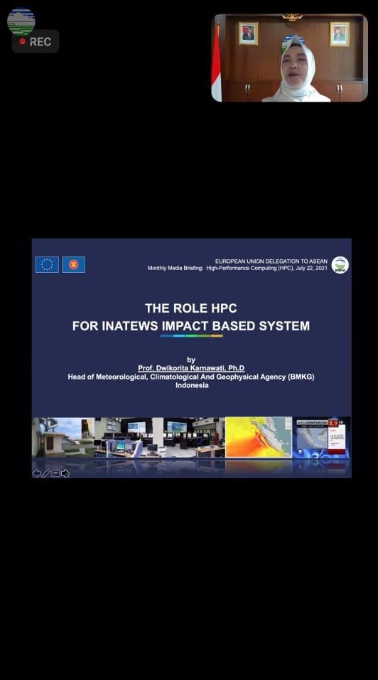 Kolaborasi BMKG dengan European Union Tingkatkan Sistem Komputerisasi Yang Canggih