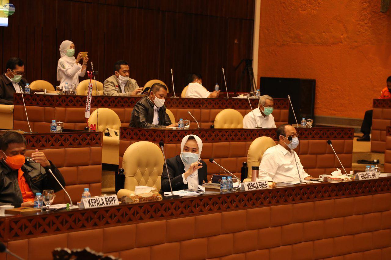 Rapat Dengar Pendapat Sinkronisasi Penetapan RAPBN TA. 2021 Para Mitra Kerja