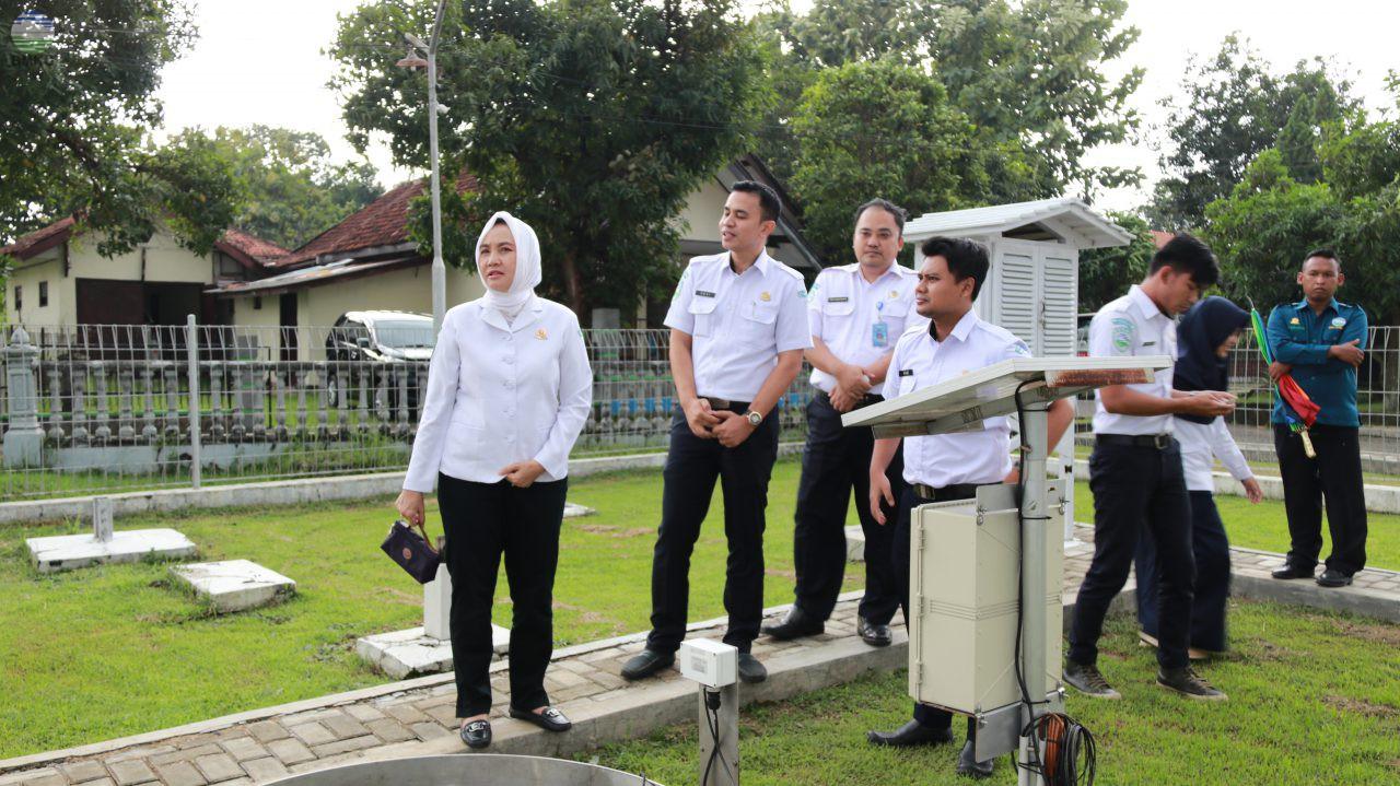 Kunjungan Kerja Kepala BMKG ke Stamet Jatiwangi