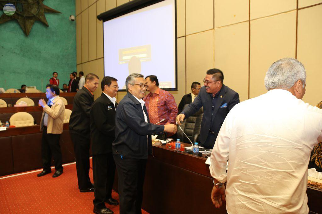 Komisi V DPR-RI Menyetujui Tambahan APBN BMKG Tahun 2017 dan RAPBN Tahun 2018