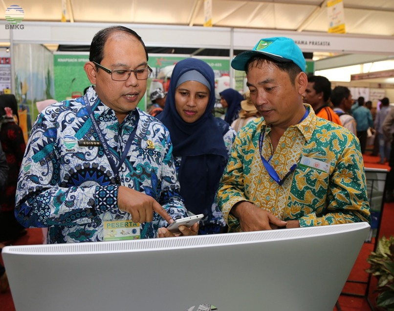 Presiden Joko Widodo Membuka Penas Petani dan Nelayan XV , BMKG berperan Aktif