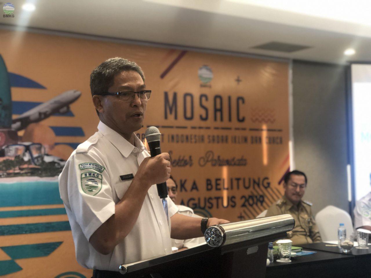 BMKG Selenggarakan Program MOSAIC untuk Mendukung Pengembangan Sektor Pariwisata Indonesia