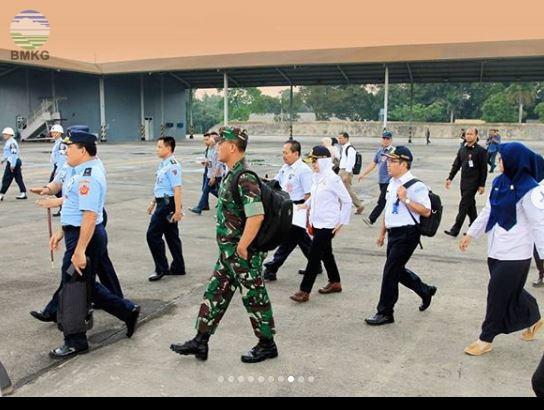 Lawatan Para Pimpinan Kementerian Lembaga ke Riau dan Bengkalis untuk Memitigasi Dampak Karhutla
