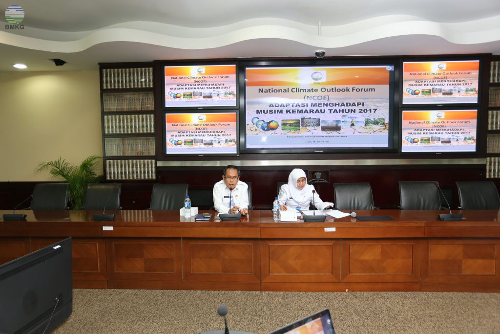 National Climate Outlook Forum Tahun 2017
