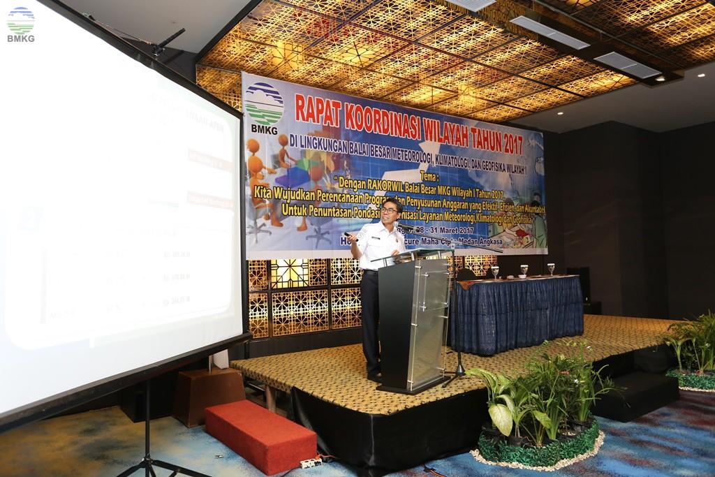 Rapat Koordinasi Wilayah Balai Besar Wilayah I Medan Tahun 2017