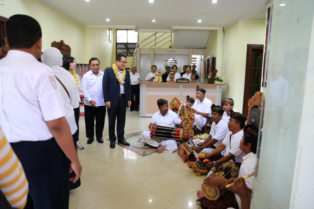 Delegasi KMA Kunjungi Kantor BBW MKG III Denpasar