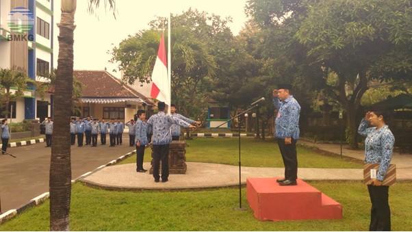 """Upacara Hari Kebangkitan Nasional 2018 BMKG Provinsi Bali """"Memahami Sejarah Untuk Persatuan Bangsa"""""""