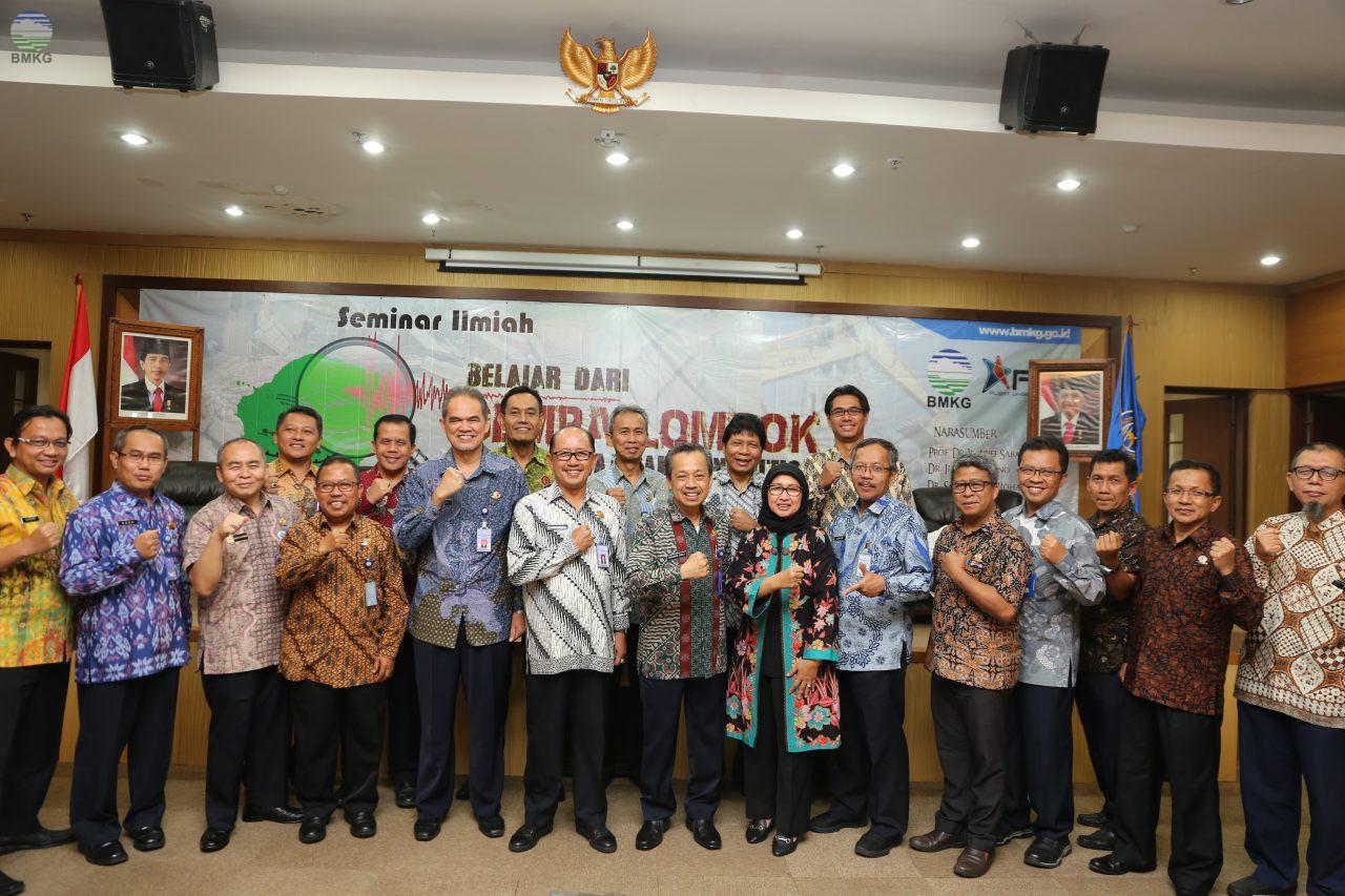 Tangkal Hoax, BMKG Undang Para Pakar Membahas Gempabumi Lombok