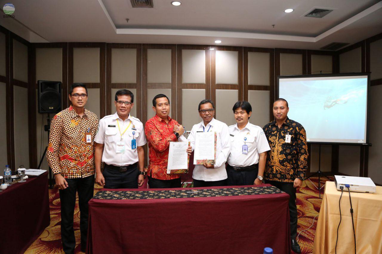 Penandatangan Perjanjian Kerjasama Antara Balai Besar MKG Wilayah V dengan Bank Mandiri
