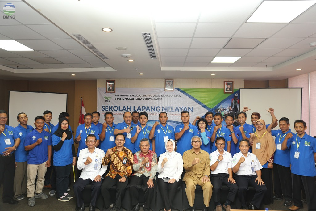 Para Nelayan Pelajari Ilmu Maritim BMKG
