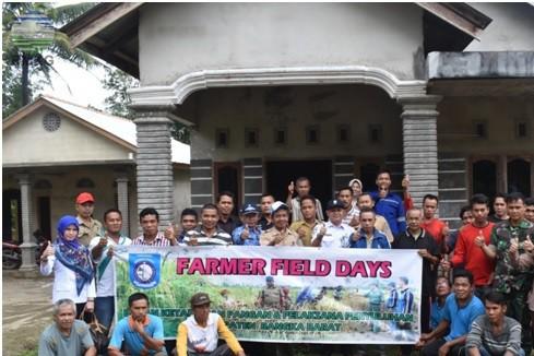 Farmer Field Days Kabupaten Bangka Barat