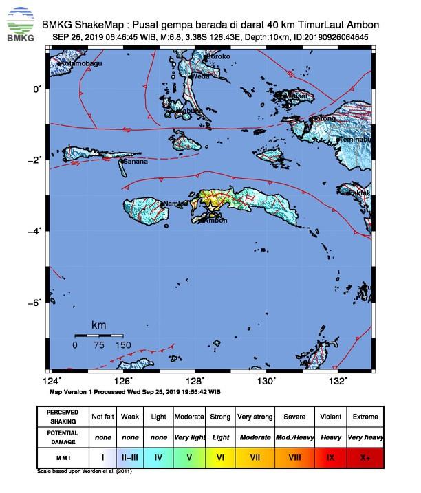Tanggapan BMKG Terhadap Isu Akan Terjadi Gempa Besar dan Tsunami di Ambon, Teluk Piru, dan Saparua