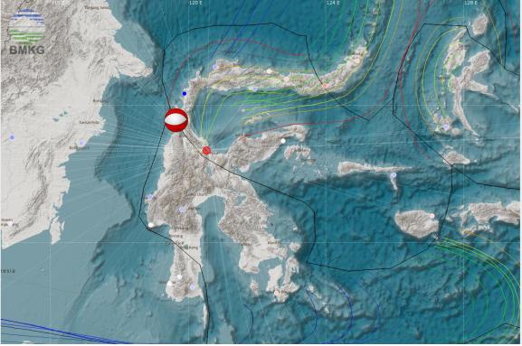 Siaran Pers Gempabumi Poso Provinsi Sulawesi Tengah M=5.2, Jum'at, 03 November 2017