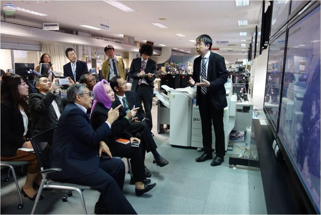 Kepala BMKG Diskusikan Kerjasama Peningkatan Teknologi MKG dengan JMA JST dan JICA