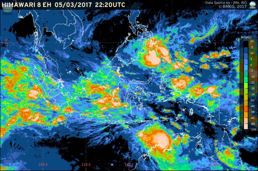 Siaran Pers : Siklon Tropis Blance dan Kondisi Cuaca di Indonesia (5 Maret 2017)