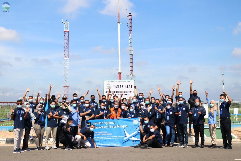 Sekolah Lapang Meterologi Penerbangan (SLMP) Provinsi Jambi Tahun 2021