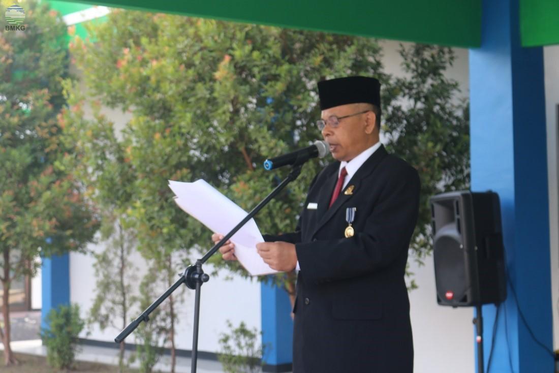 Upacara HUT RI ke-74 UPT Provinsi Jawa Timur