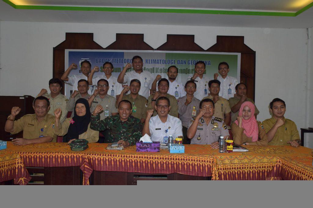 Rapat Terbatas Informasi MKG Terkait Potensi Karhutla Kalimantan Selatan 2018