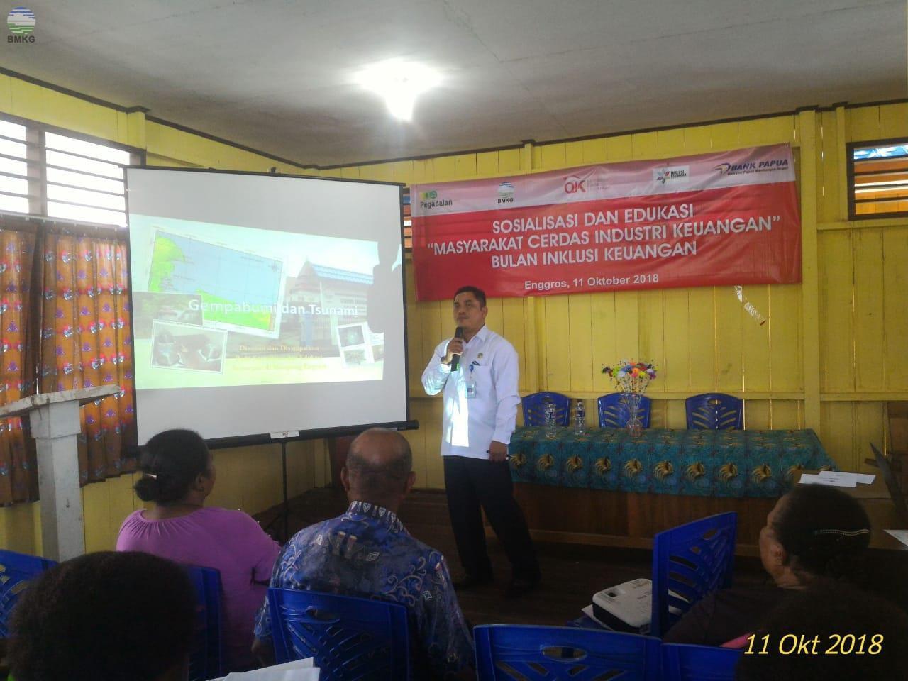 Dukungan Stasiun Geofisika Angkasa Pada Kegiatan Sosialisasi dan Edukasi Masyarakat Cerdas Industri Keuangan