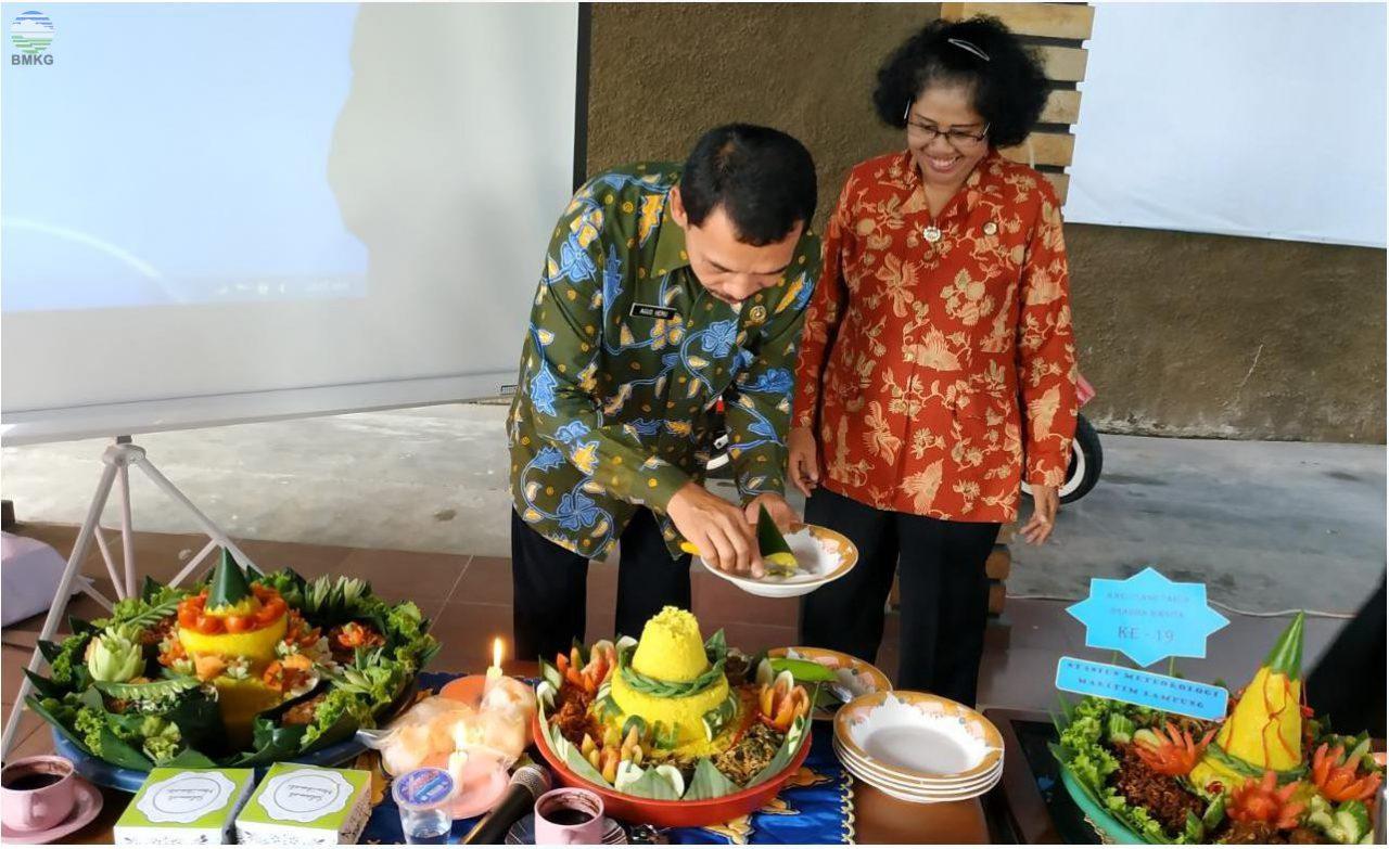 Stamet Radin Inten II Tuan Rumah HUT ke 19 DWP BMKG Lampung