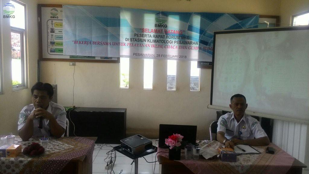 Staklim Pesawaran Jadi Tuan Rumah Rapat Forum MKG Se-Provinsi Lampung