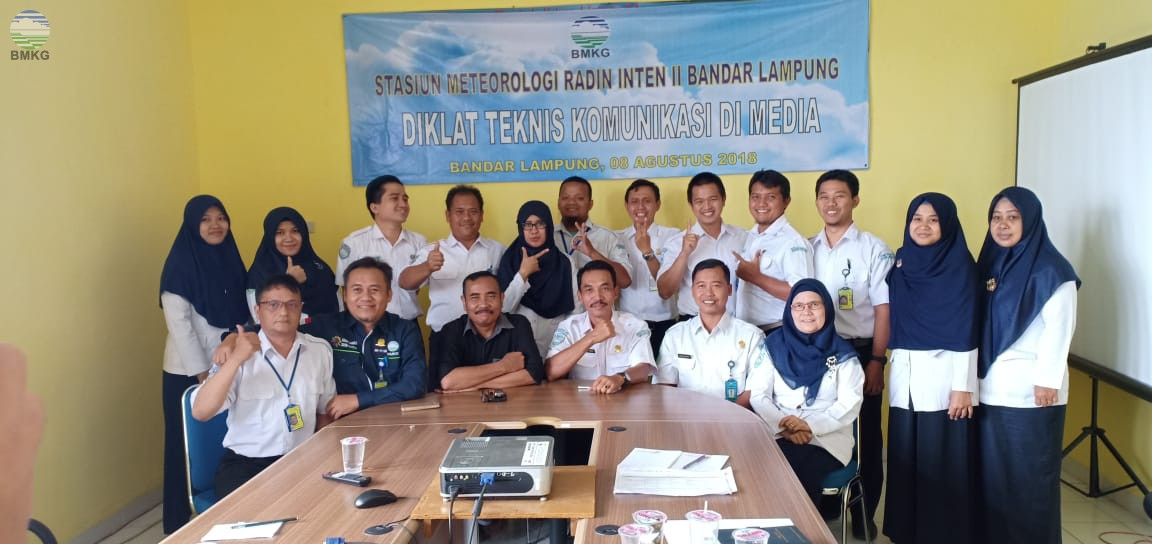 Stamet Radin Inten II Gelar Training of Trainer Komunikasi ke Media