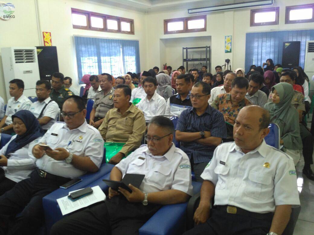 Workshop Pemahaman Rantai Peringatan Dini Gempabumi dan Tsunami