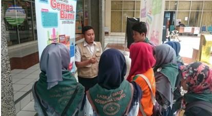 BMKG Provinsi Sumatera Barat Ikuti Pameran Kebencanaan