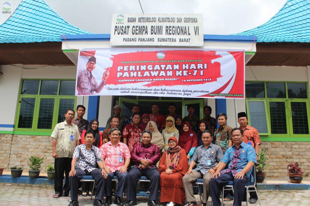 Kunjungan Kerja Deputi Bidang Geofisika BMKG ke Stasiun Geofisika Kelas I Padang Panjang