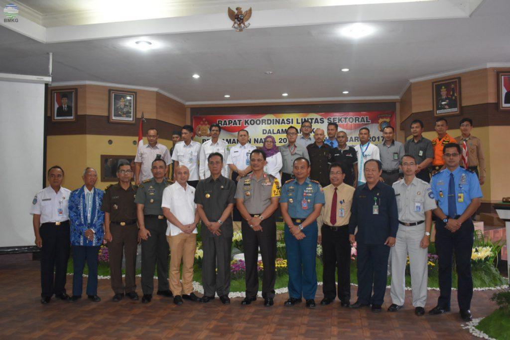 Rapat Koordinasi Lintas Sektoral Pengamanan Natal 2016 & Tahun Baru 2017