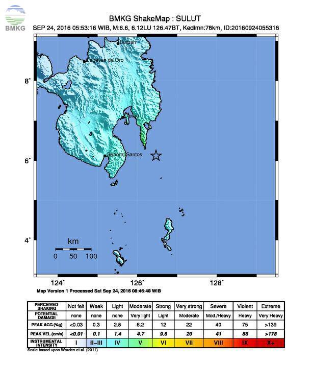 Gempabumi Kuat Guncang Filipina Tenggara, Berdampak Di Kepulauan Talaud